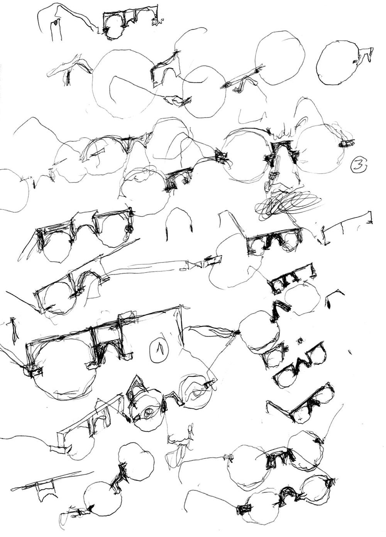 vava eyewear alvaro siza vieira sketches