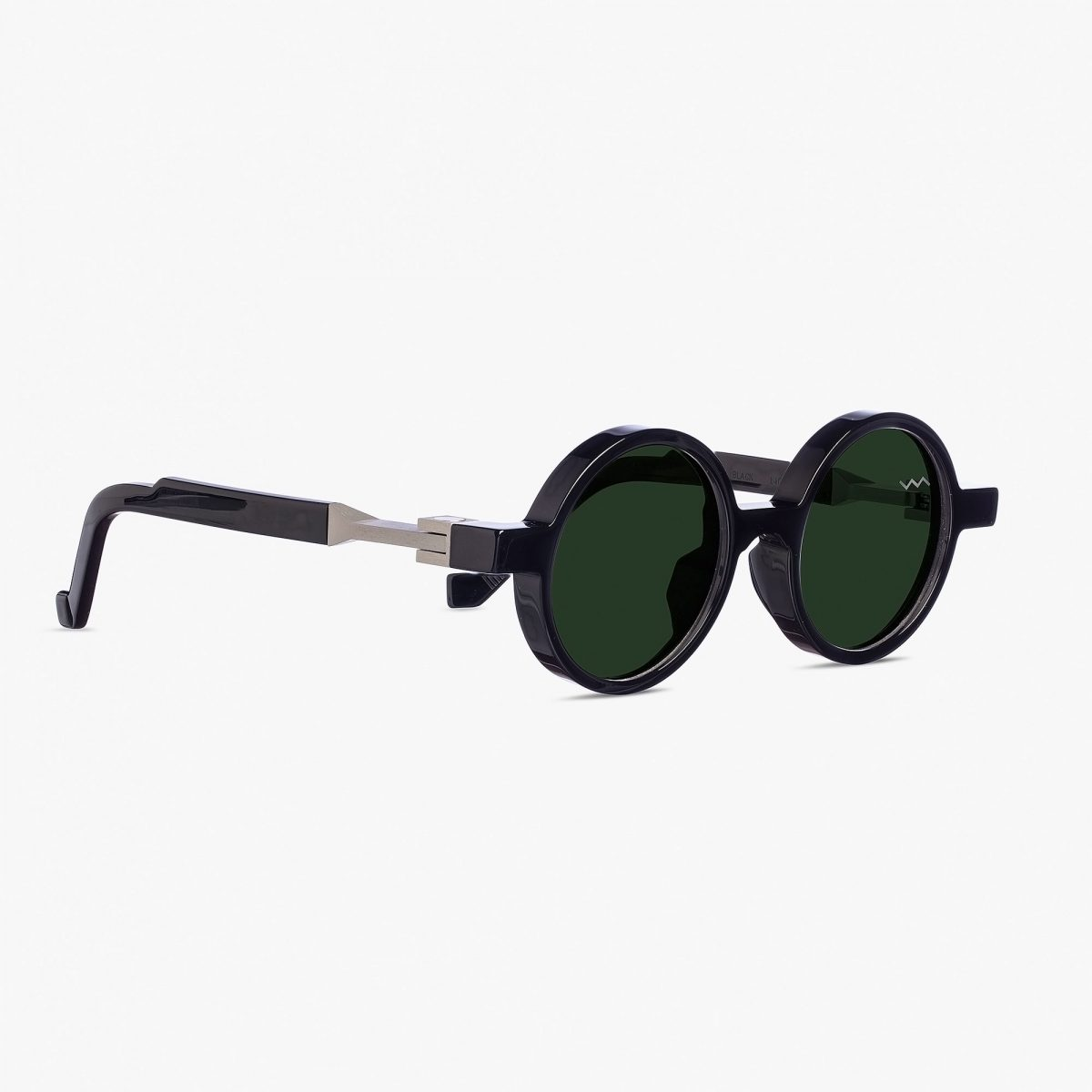 WL0006 BLACK SUNGLASS VAVA EYEWEAR ROUND SHAPED