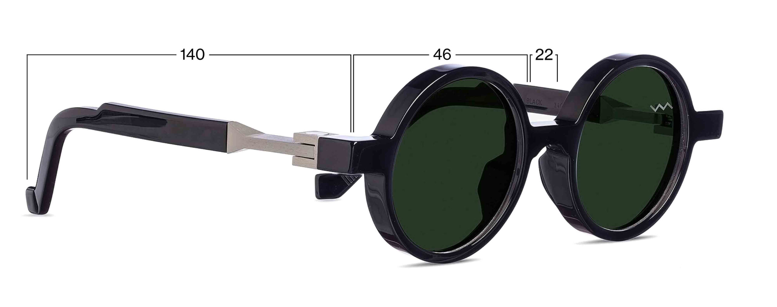 vava eyewear online shop wl00006 black SIZING
