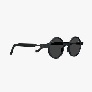 VAVA EYEWEAR SUNGLASS ONLINE SHOP WL0014 BLACK SIDE