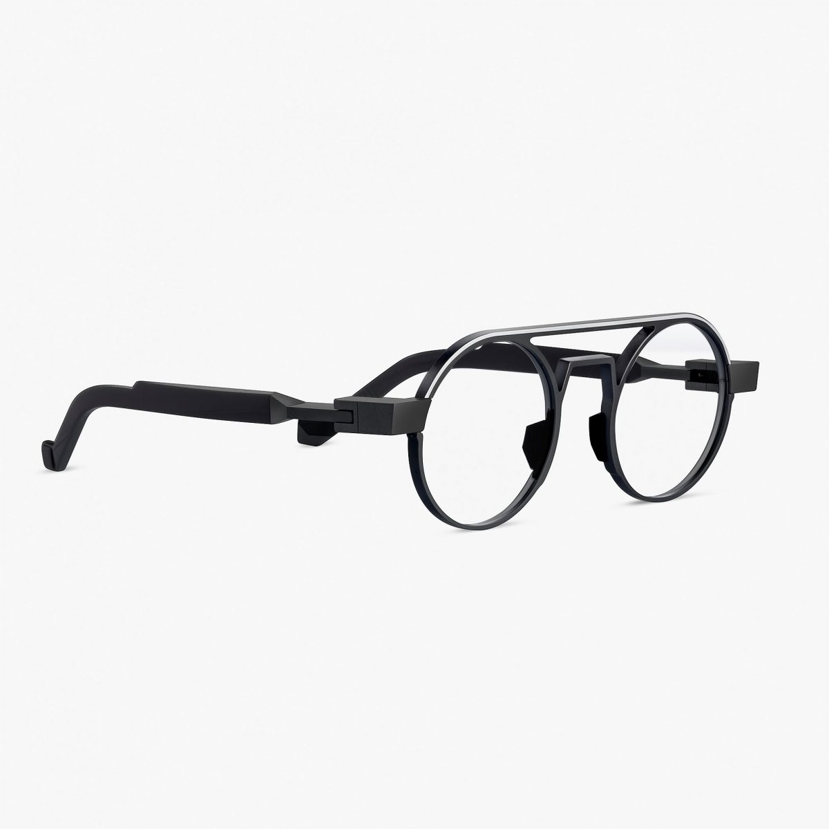 VAVA EYEWEAR ONLINE SHOP WL0022 BLACK SIDE