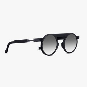 VAVA EYEWEAR ONLINE SHOP WL0024 BLACK MATTE MIRROR SIDE