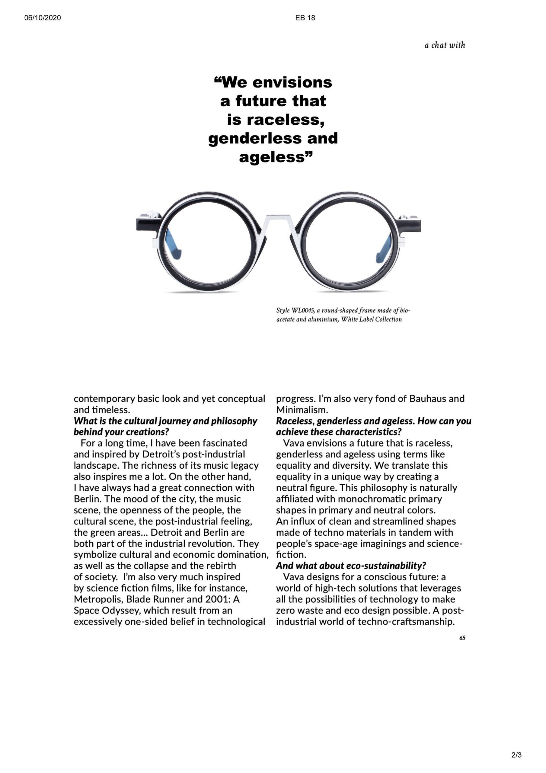 vava eyewear eyebook