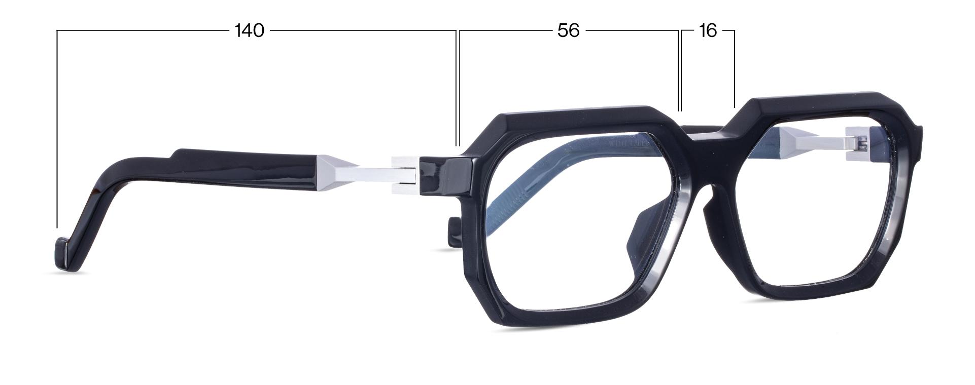 vava wl0048 black eyewear frame shop online